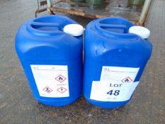 2 x Unissued 20L Drums of AL 5 Ethanol Based Deicing/Defrosting Fluid