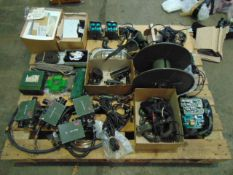 1 x Pallet of Various Clansman Spares inc. PSU`s, headsets, crew boxes Etc. ETC.