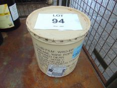1 x Unissued 35lb Sealed Drum of Eureka Chemical Company Fluid Film Grease