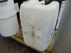 1 x Unissued 25L Sealed Drum of Isomex De-Icer Liquid