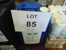 1 x Unissued 25L Drum of AL-20 Ethylene Glycol Based Antifreeze