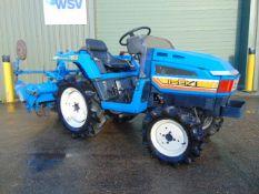 Iseki Landhope TU155 4x4 Cpmpact Tractor c/w Rotavator ONLY 454 HOURS!