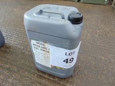 1 x Unissued 20L Drum of Mobil Mobilube 1 SHC 75W-90 Fully Synthetic High Performance Gear Box Oil