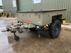 Reynolds Boughton Wide Track Land Rover Trailer with Drop Tail Gate