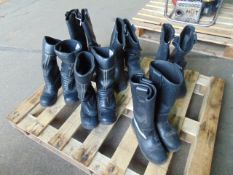 6 Mixed Pairs of Jolly Firefighters, Bikers, Rigger Boots Waterproof
