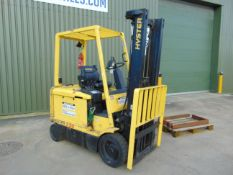 Hyster E3.20XM Counter Balance Electric Forklift From MOD Ex Stand By Truck