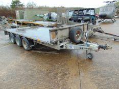 Ifor Williams 3.5 Tonne 3 Axle Plant / Car Transporter Trailer