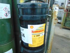 1 x Unissued 20L Sealed Drum of Shell Rimula X 30 Heavy Duty Diesel Engine Oil