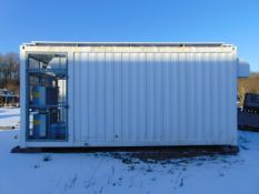 20 ft NEC Digital Transmitter Container Unit
