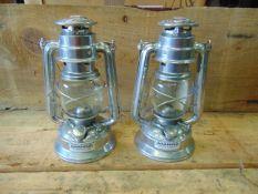 2 x Unissued Vintage Chalwyn Tropic Hurricane Lamps