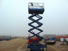 Powered Access Upright X32 11.8m Electric Scissor Lift ONLY 1,326 HOURS!