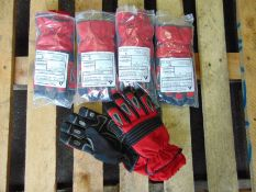 UK Fire and Rescue Service QTY 5 x Unissued Bennett Extricator Plus RTC Gloves