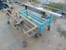 2 x Premitec Rotating Bench assys with 110V Motors