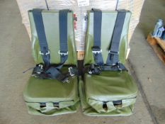 Qty 2 x Vehicle Operators Seats with Harness