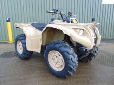 Yamaha Grizzly 450 4 x 4 ATV Quad Bike Complete with Winch ONLY 1,045 HOURS!