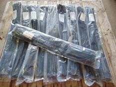 500 x UNISSUED Extra Long 75cm Cable Ties / Zip Wraps