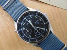 SEIKO GEN 2 RAF ISSUE PILOTS CHRONO NATO MARKED DATED 1996