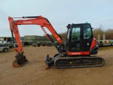 2017 KUBOTA KX 080-4A Excavator ONLY 1,212 HOURS! Very High Specification with 3 Buckets