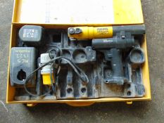 Rems 578012 MIni Press ACC c/w 1 x Battery, Charger, Steel Case etc