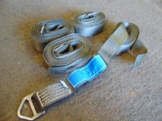 4 x Unissued SpanSet 5.5m 1.815t Straps as shown