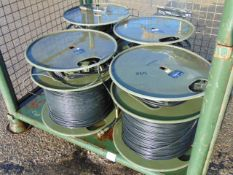 4 x Heavy Duty Cogent Cable Reels as shown