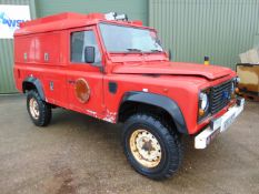 1 Owner Land Rover Defender 110 300TDi Fire Engine ONLY 22,827 MILES!