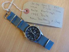 Seiko Gen 2 RAF issue Pilots Chrono Nato Marked