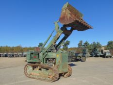 Case 1155E Tracked Drott Loader c/w Winch 495 hours only.