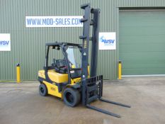 Yale GDP35VX Counter Balance Diesel Forklift ONLY 3,791 HOURS!