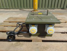 Blakley Portable Transformer unit Input 230v Output 2 x 110v