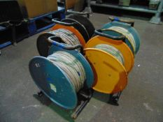 You are bidding on 5 x Cable Reel Assys.