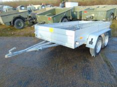 Unused Fracht Twin Axle Trailer Complete with Sides and Hoops
