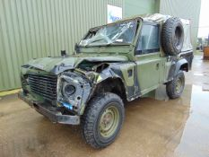 Land Rover Wolf 110 Hard Top suitable for spares or repairs
