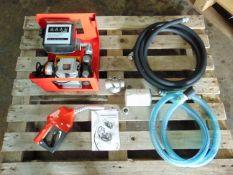 Unused AC60-M Diesel Transfer Pump Set c/w Nozzle, Hose etc