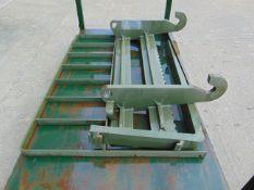 Unissued JCB 4CX Back Plate & Fork Set