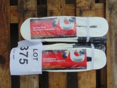 2X RECOVERY STRAPS - 3 INCH X 3 FT