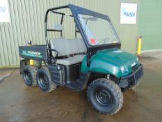 Polaris 6x6 800 EFI Ranger Utility Vehicle ONLY 280 HOURS from Govt Dept