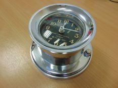 WW 2 US NAVY MK 1 BOAT CLOCK.1941 CAST ALUMINIUM REPRO