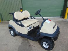 V TIDY CLUB CAR 2 SEAT GOLF BUGGIE WILL NEED NEW BATTERIES