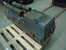 Dantherm Vam 15 portable workshop/building heater 240 volt c/w accessories ONLY 1,266 HOURS!