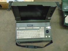EDS DEFENCE RUGGIDIZED COMPUTER C/W KEYBOARD ETC