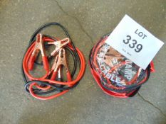 2X PAIRS OF HD JUMP START LEADS
