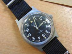 Unissued Extremely Rare CWC 0552 Royal Marines (Fat Boy/Fat Case) quartz wrist watch