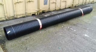 Qty 5 x UNISSUED Tensar SS20 Geogrid Ground Foundation Reinforcement Roll 4m x 75m