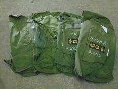 4X ORIGINAL SAS GQ LOW LEVEL PARACHUTE RESERVE PACKS ONLY
