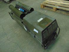 Dantherm Vam 15 portable workshop/building heater 240 volt c/w accessories ONLY 122 HOURS!