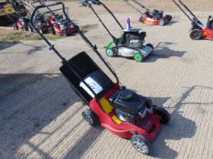 MOUNTFIELD SELF PROPELLED LAWN MOWER.C/W COLLECTOR