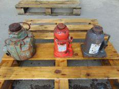 Q 3 x Mixed 20 & 35 Tonne Hydraulic Jacks