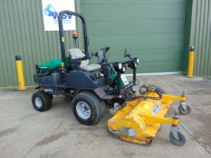 2014 Ransomes HR300 C/W Muthing Outfront Flail Mower ONLY 2,203 HOURS!