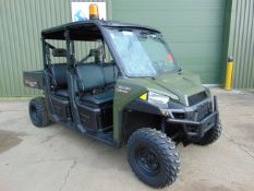 Polaris Ranger Crew Cab Diesel Utility Vehicle 1,190 Hrs only from Govt Dept